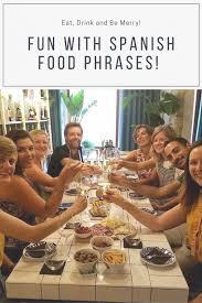 spanish food phrases eat drink
