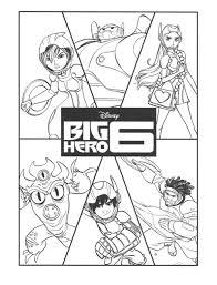 Big Hero 6 Kleurplaten Animaatjesnl