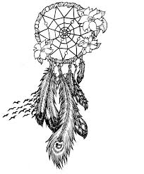 Native Dream Catchers Drawings Dreamcatcher Coloring Page GetColoringPages 35