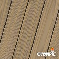 Light Brown Sealant Olympic Maximum 1 Gal Weathered Barnboard Semi Transparent