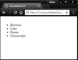 Unordered Lists Archives Webdevbyte Com