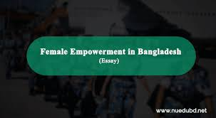 female empowerment in essay for honours exam