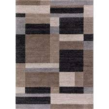bazaar squares multicolor 5 ft x 8 ft block design area rug
