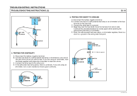 hyundai hd hd hd electrical troubleshooting manual testing for voltage evtgi70009l 10 troubleshooting instructions
