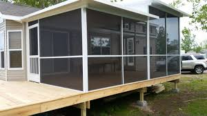 Screen Porch for Mobile Home Archives - Screen Pro Screen Enclosures