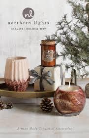 Northern Lights White Pumpkin Candle 2019 Northern Lights Holiday Catalog By Northern Lights