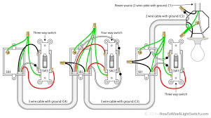 wiring diagram for a 3 way switch to single light 4 way switch Single Switch Wiring Diagram wiring diagram for a 3 way switch to single light 4 way switch power via light jpg single pole switch wiring diagram