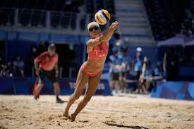 beach volleyball gold ...