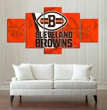 cleveland browns canvas print wall art on cleveland browns wall art with cleveland browns canvas print wall art help people shop
