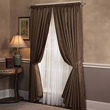 brown living room curtains. Dark Brown Living Room Curtains P