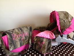 3 piece set realtree camo fabric infant car seat cover and baby stroller