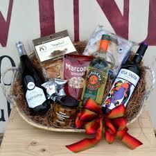 viva espana trio spanish wine gift basket
