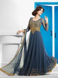 Cheap Designer Gowns Online Grey Party Wear Evening Gown Buy Designer Gowns Online With