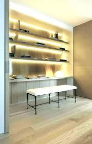 bookshelf lighting. Led Bookshelf Lighting Shelf Lights Floating Cabinet