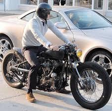 david beckham s vintage 93 knuckle custom bike great unfinished