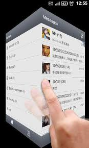 go sms pro 3d carousel