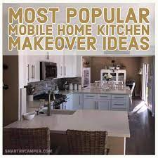 25 Most Popular Small Mobile Home Kitchen Design Ideas For More Comfort Smart Home And Camper