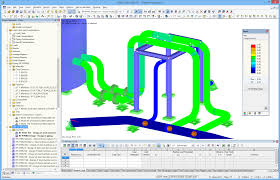 Basics Of Pipe Stress Analysis Design Working With Rf Piping Design Dlubal Software