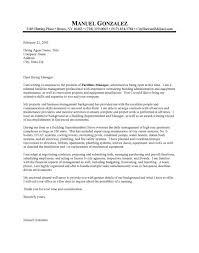 Cover Letter For Maintenance Manager Sample Cover Letter Maintenance