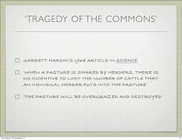 essay writing tips to tragedy of the commons essay the tragedy of the commons essay example writingdeal com