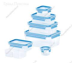 <b>Набор контейнеров из</b> полипропилена и термопластика 5 ...