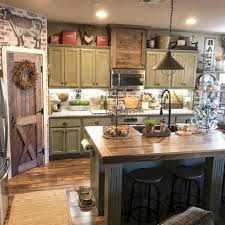 25 rustic farmhouse kitchen decor ideas homeylifecom rustic kitchen