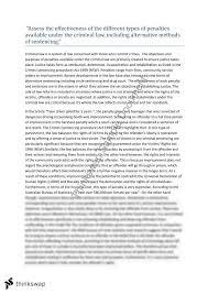 crimes essay year hsc legal studies thinkswap crimes essay