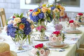party table ideas tea party table decorations backyard party decorating ideas on a budget