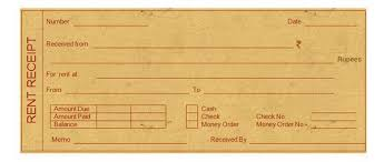 Complete Guide On Rent Slips Receipts And Claim Hra Tax