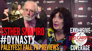 Esther & Richard Shapiro, Creator Dynasty interview at The CW ...