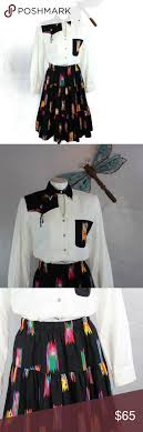 Vtg Western Attitude by Lilia Smith Skirt and Top | Clothes design, Skirt  top, Fashion design