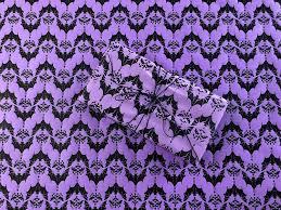 baroque bats gothic wrapping paper purple 24x36 premium handmade gift wrap