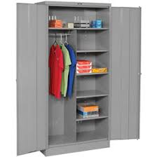 metal storage cabinet. Tennsco Combination Metal Storage Cabinet 1472-MGY - 36x18x72 Medium Grey G