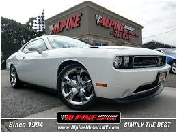 2014 dodge challenger white. Fine Challenger Used 2014 Dodge Challenger In Wantagh New York  Alpine Motors Inc  With White C