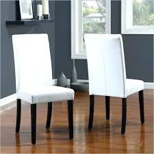 amazing white leather dining room chair extraordinary faux parsons chairs decor parson slipcover canada