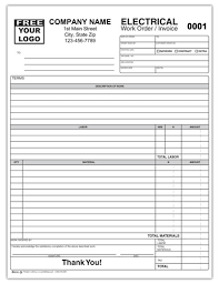 Contractor Invoice Samples Electrical Contractor Invoice Form