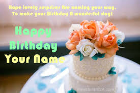 Write Name On Birthday Cake Online For Free Newshunts24