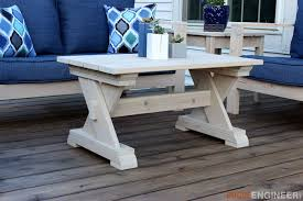diy outdoor furniture plans. Small Outdoor Coffee Table Diy Outdoor Furniture Plans E