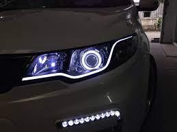 Vua độ dải đèn led mí mắt xe hơi ô tô giá rẻ hcm