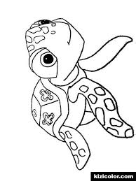 Finding Nemo Crush Squirt Free Printable Coloring Pages For Girls