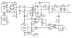 power supplies \u003e switch mode \u003e low noise switching power supply Schematic Circuit Diagram low noise switching power supply schematic circuit diagram schematic schematic circuit diagram iphone