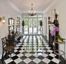 black and white tile floor. 25 Classy And Elegant Black \u0026 White Floors Tile Floor