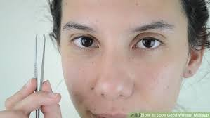 image led look good without makeup step 10