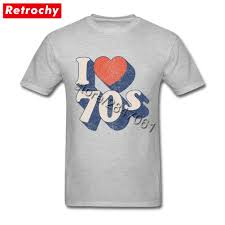 70s T Shirt Design Us 12 54 43 Off 80s Style Unique I Love 70s T Shirt 70s Tee 1970 Tshirt For Men Famous Brand Design Short Sleeve Tee Shirts Big Tall Size In
