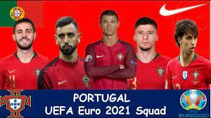 Portugal UEFA Euro 2021 Squad - YouTube