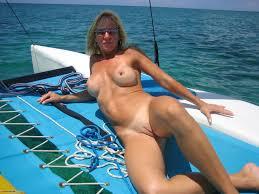 Nude milfs on yacht
