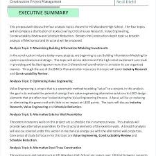 Construction Business Proposal Templates Free Word Format Executive