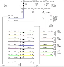 need a wiring diag to wire a 2002 radio to a 2001 car mazda bose radio then it doesnt have an amp and you will need to match up the wires from this diagram to the base system diagram for the back of the radio