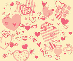 Free Hearts Background Vector Vector Art Graphics Freevector Com