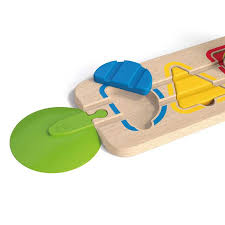 Wooden Path Game Wooden PATH shapes and colors HAPE E100 game early childhood 88